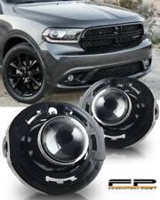2014-2017 Dodge Durango Clear Lens Replacement Fog Lights Housing Assembly Pair