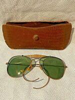 Vintage 1940s WWll Aviator Sunglasses