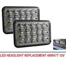 LED headlight 4 x 6 Inch led Headlights Suit 80 Series 60 SERIES Square H4 LED