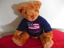 Adorable FAO Schwarz Plush Teddy Bear
