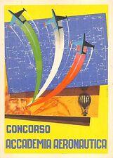 C4288) AVIAZIONE, CONCORSO ACCADEMIA AERONAUTICA. ILLUSTRATORE TOMEI.