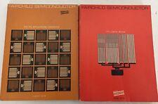 2 Fairchild Semiconductor TTL Data Book  & TTL Applications Handbook 1972 & 1973