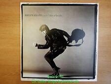 """Bryan Adams 12"""" LP NEAR MINT Cuts Like a Knife A&M Records AMLH 64919"""