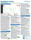 QuickBooks Online Training Guide Quick Reference Card 4 Page Cheat Sheet Help