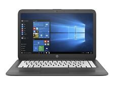 "New - HP Stream 14-ax005na Laptop Intel Celeron 4GB RAM 32GB eMMC 14"" Dark Grey"