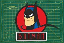 """Batman Style Art Déco Mur Ordinateur Portable Tablette porte voiture Livre Tool Box Autocollants 6"""""""