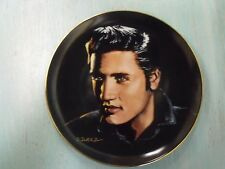Decorative Collectors Plate Elvis Presley 'Love Me Tender'  Plate One  Numbered