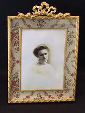 EXCEPTIONAL DORE BRONZE PICTURE FRAME CIRCA 1890