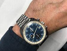 Vintage Omega 1040 Seamaster Chronograph Wrist Watch Omega 1170 Band