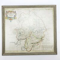 Warwickshire: ANTIQUE RARE Map by Robert Morden, 1695 & Later, Swale & Churchil