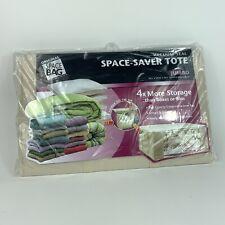 "Original Space Saver Tote Vacuum-Seal Jumbo Size: 25.5"" x 19.75"" x 10.5"" New"