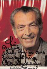 Camillo Felgen TOP AK 80er Jahre Orig. Sign. u.a. Radio Luxemburg +57960
