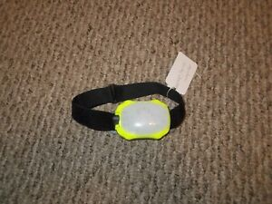 Princeton Tec Meridian Strobe/Beacon Headlamp in Neon Yellow 100 Lumens