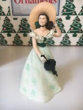 Scarlett O'Hara 2 Gone With The Wind Christmas Hallmark Keepsake Ornament IB