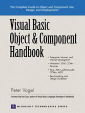 Visual Basic Object and Component Handbook (Prentice Hall series on Microsoft.