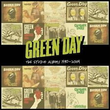 The Studio Albums 1990-2009 [Box] by Green Day (CD, Aug-2012, 8 Discs, Rhino (Label))