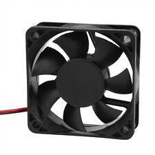 DC 12V 2Pins Cooling Fan 60mm x 15mm for PC Computer Case CPU Cooler BT