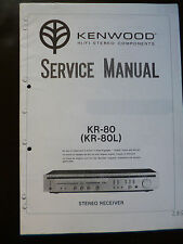 Service Manual Kenwood KR-80 KR-80L