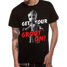 Camisetas de hombre negro LA 100% algodón