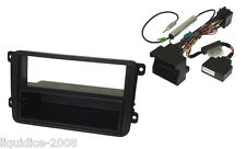 VOLKSWAGEN POLO mkv 2009 ONWARDS CAN IGNITION SINGLE or DOUBLE DIN FITTING KIT