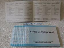 Inspektionsheft Servicenachweis Serviceheft NEU OPEL Serviceheft 2018 LEER orig