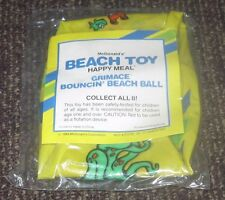 1989 McDonalds Beach / Pool Toy Inflatable - Grimace