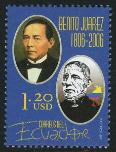 Ecuador 1774, MNH. Benito Juarez, President of Mexico, 2006