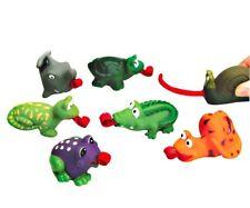 Animal Toys Wooden Jack Clockwork Puppet Notebook Sound Maker 6 Roll Tongue Animals