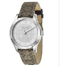 NWT New In Box Coach Women's Maddy Watch Beige And Brown