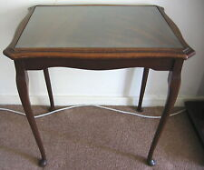 Mahogany Antique Style Rectangle Coffee Tables
