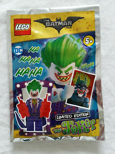 LEGO® - THE BATMAN MOVIE - DC THE JOKER - LIMITED POLYBAG - NEW FACTORY SEALED