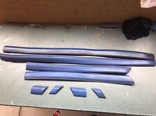 1995-1999 Jetta Mk3 Side Door Moldings Blue