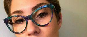 DOLCE & GABBANA Cat Eye  Eyeglasses Frame EUC