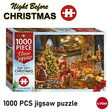 The Night Before Christmas Hinkler Jigsaw Puzzles 1000 Pieces Set Adult Kid Toys