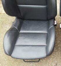 PEUGEOT 307 CC Leather BLACK Front Passenger SEAT Hotrod T4 T5 VW Chevy day van