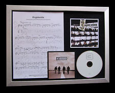 3 DOORS DOWN Kryptonite TOP QUALITY MUSIC CD FRAMED DISPLAY+EXPRESS GLOBAL SHIP