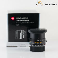 Brand New Leica Elmarit-M 28/2.8 28mm f/2.8 11677 Asph New version Germany