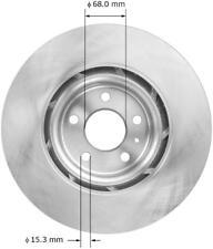 Disc Brake Rotor-Premium Brake Rotor Front Bendix PRT5994