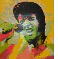 "Steve Kaufman     ""Elvis Vegas State II""       Serigraph      MAKE OFFER"