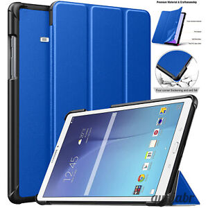 "Leather Magnetic Smart Stand Case Cover For Samsung Galaxy Tab E 9.6"" T560 T561"