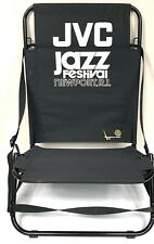Jvc Jazz Festival Newport, R.I. Set of Folding Aluminum Low Profile Lawn Chairs