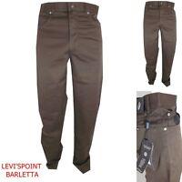 trussardi 360 silver pantaloni uomo estivi cotone regular confort taglia W31 W32