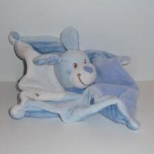 Doudou Chien Nicotoy - Blanc Bleu