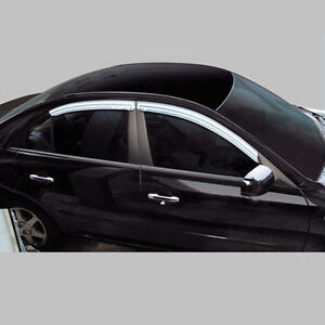 Chrome Window Visors Vent 4p For 00 - 05 Chevy Epica : Magnus