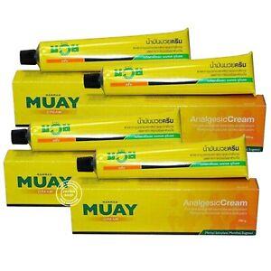 4x100g Muay Thai Boxing Analgesic Massage Cream Namman Muay Liniment Pain Relief