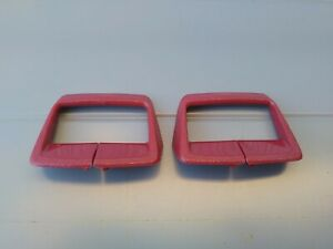 1974-79 CHEVY II NOVA Seat Back Belt Shoulder Strap Harness Retainer Guide RED
