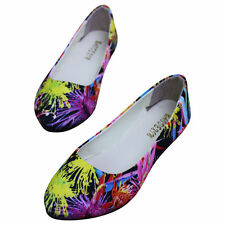 Unbranded Women's Flats in Floral Pattern