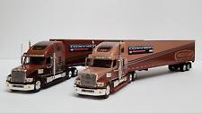 Coronado 1:64 diecast twin truck freightliner in  wooden box