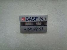 Vintage Audio Cassette BASF Chromdioxid 60 * Rare From 1982 * Alternative Shell
