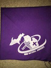 Boy Scout BSA 1989 Detroit Area Michigan 1 Council National Jamboree Neckerchief
